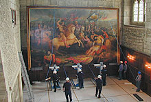 Constantine Limited: Moving an outsize painting from Battle Abbey
